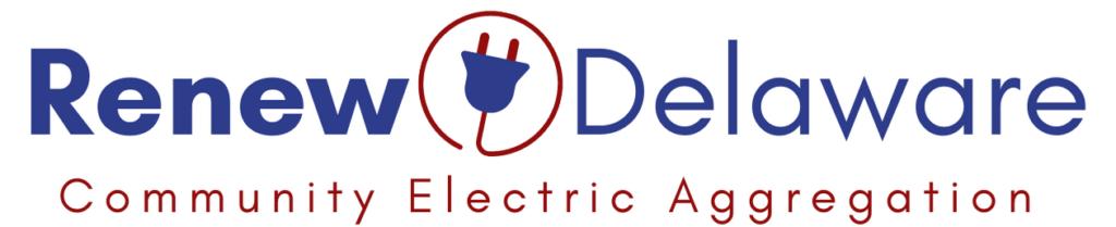 Renew Delaware logo - Renewable Energy Aggregation